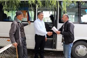 Sentyabrda səyyar gübrə satışından 977 fermer yararlanıb